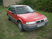 1994 Rover 218D. MOT July 2019. 76000 miles