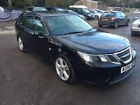 2008 SAAB 9-3 AERO TTID AUTO BLACK TWIN TURBO FULL SERVICE HISTORY