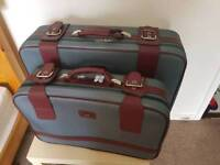 Suitcases luggage