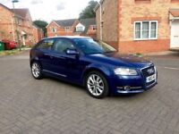 2012 AUDI A3 1.6 SPORT COUPE DIESEL, MILEAGE 50000, TAX £20, 70 MPG, MOT MARCH 2019, JUST SERVICED