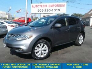 2014 Nissan Murano SL AWD Leather/Pano Roof/Camera &GPS*
