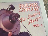 Hank Snow The Singing Ranger Volume 3 CD Box Set