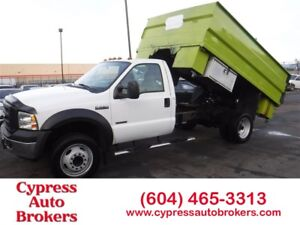 2006 Ford F-550 CHASSIS CAB XL (Dump Truck)