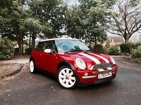 £1550 ono: Mini Cooper 2003 - Pan roof, Chilli Pack