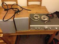 Cambridge Audio A5 Amplifier with 2 x S30 speakers