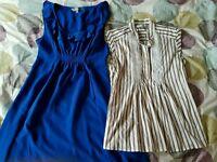 Size 12 maternity dress and shirt