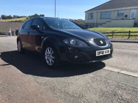 2012 Seat Leon SE Copa 1.6 TDI *Full years MOT* *£20 Road tax*