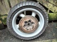 MALAGUTI MADISON 125cc wheels