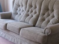 Settee and chair sage green attractive design.