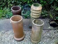 Chimney pots x 4
