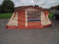 Canvas 6 man tent - immaculate condition