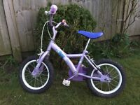 Girls Apollo 14inch bike