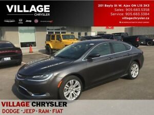 2016 Chrysler 200 limited 8.4TouchscreenBackup Camera