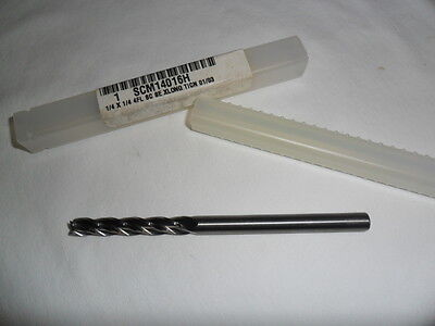 Interstate Brand 14 Solid Carbide 4 Flute Extra Long Single End Mill