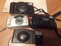4 film cameras various makes.