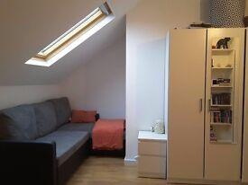 Spacious (WHOLE FLOOR) loft en-suite double room - excellent location!!!