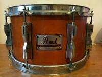"""Pearl 7""""x12"""" Maple Honey Amber Gloss Dennis Chambers Snare"""