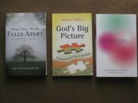 Three Faith and Spiritual Guidance Paperbacks for £2.00 Each