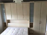 Fitted Bedroom Wardrobes / Kingsize Bed / Cupboards