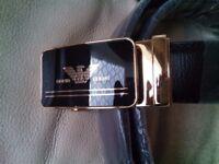 Giorgio Armani Men's Belt - Beautiful Designer Belt -(not Gucci, Versace, Louis Vuitton, Boss,
