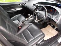 HONDA CIVIC 1.8 SE I-VTEC 5d 139 BHP (grey) 2008