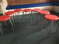 Children's Chairs Stools 17 in total for class learning