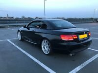 08 BMW 3 Series 330i Auto M-Sport Convertible iDrive Nav Heated Leather(not e90,e91e92)