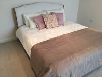 Bed For Sale - Super King size Coco Bed by Loaf in Natural Cotton Linen Mix