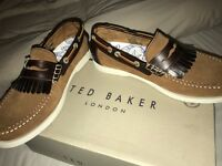 Ted Baker Waave tan coloured men's shoes