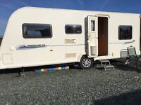Bailey Pageant Touring Caravan 546 . 2010 . 6 Berth ( 3 Bunks , I single bed, 1 double)