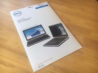 """*New Unopened* DELL 461-10230 - Notebook privacy filter - 15.6"""" - Black - for Latitude Models in Box"""