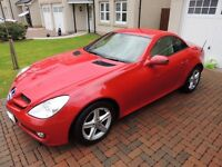 Mercedes Benz 3.0 SLK 300 2 dr 7G-tronic Auto - 2011 model with 24,000 miles