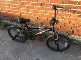 "Zinc 20"" Wheel Girls BMX Bike. Serviced Good Condition. Free Lock, Lights, Delivery"