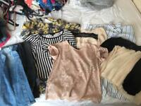 Ladies clothes size 8-12 mostly 10