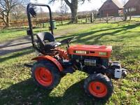 Kubota Compact Tractor 4wd ideal small holding