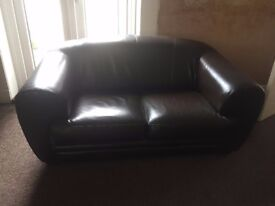 Sofas Brown Quality Leather 3+2 seater