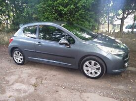 Peugeot 207 Sport 1.6 HDi 110 3 Door Grey/Blue