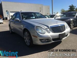 2008 Mercedes-Benz E-Class LEATHER/ROOF/LOW KMS!