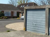 Single lock-up garage to rent in Selsey (off Manor Road)
