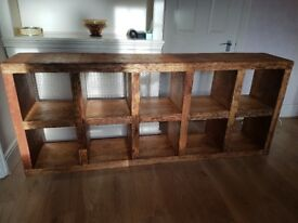 Genuine imported mexican bookcase in very good condition.