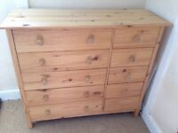 Nordic Style Wooden 5-drawer Chest of Drawers