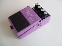 boss Hi Band Flanger HF-2 pedal made in JAPAN