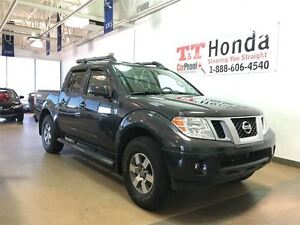 2013 Nissan Frontier PRO-4X *Local Car, No Accidents,Leather, Bl