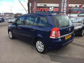 Vauxhall Zafira 1.6 Life *** ONLY 60,000 MILES! *** 12 MONTHS WARRANTY! ***