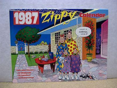 Zippy Calendar 1987 (Bill Griffith) (Zippy Calendar)
