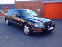 Lexus LS400, 4.0 V8, Auto. Fully Loaded, 1997 R Reg, 159K with FULL SERVICE HISTORY gs300 ls430