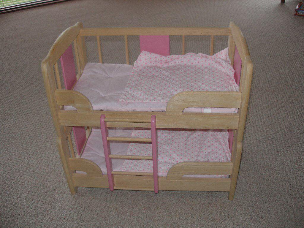 Wooden Dolls Bunk Beds In Duns Scottish Borders Gumtree