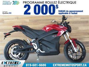 2017 Zero Motorcycles Zero S R ZF13.0  60$/SEMAINE