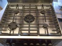 Electrolux electric cooker with gas hob