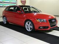 2011 Audi A3 2.0T A/C CUIR TOIT PANO MAGS